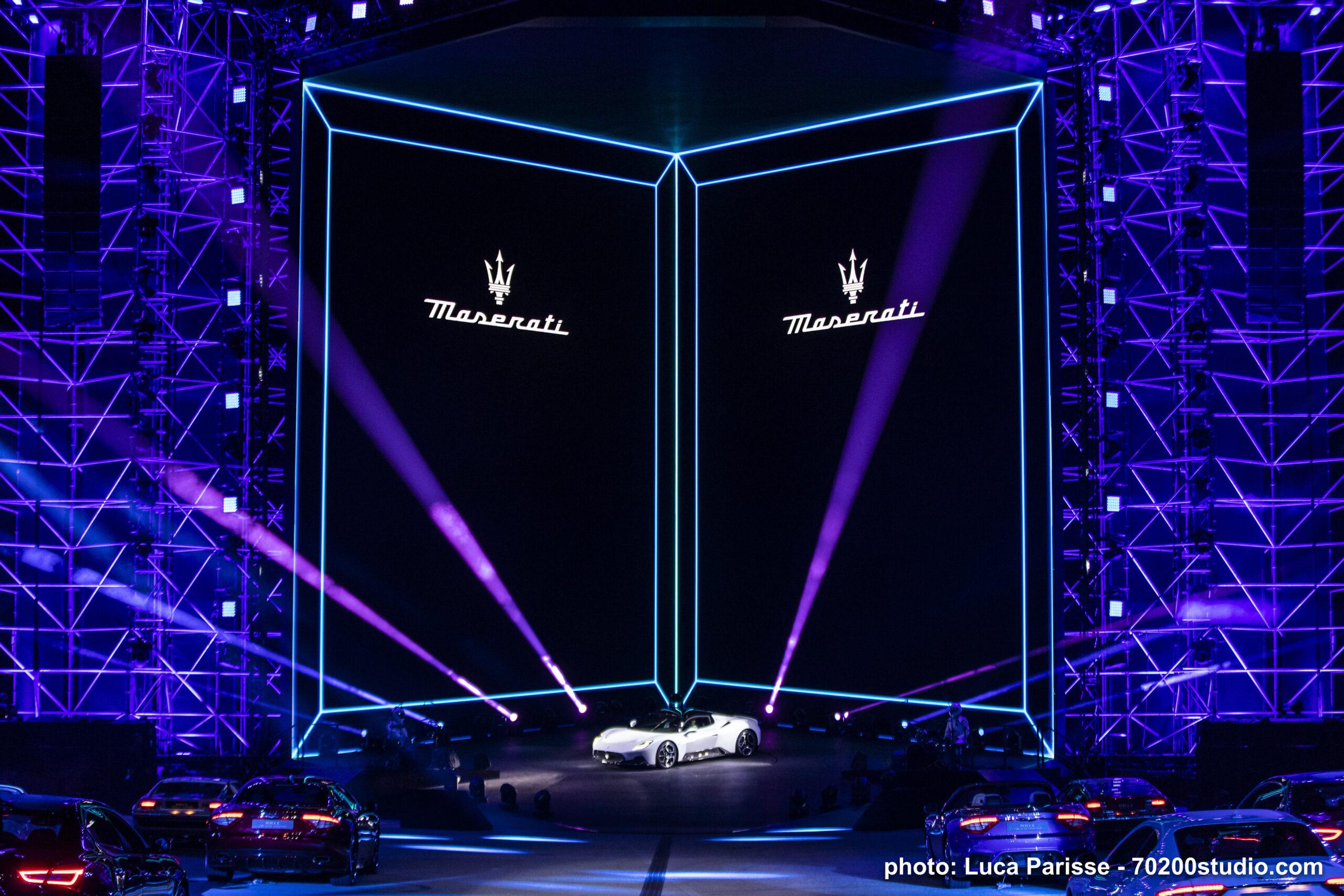 Presentazione Maserati MC20 – Modena